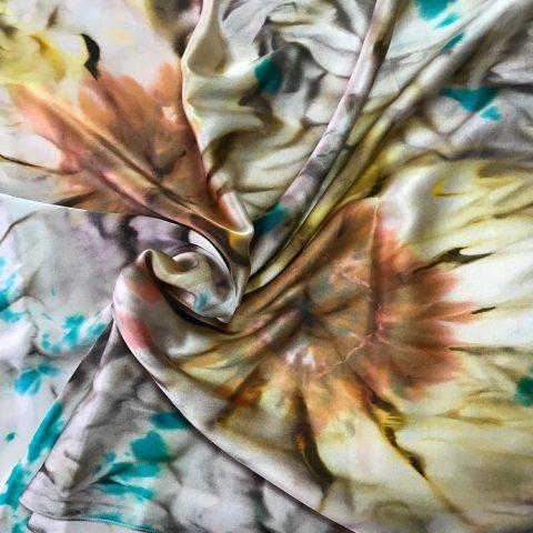 Scarf Sunflowers