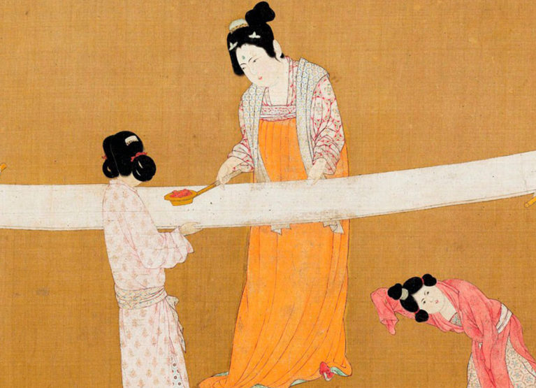 The mystical history of silk