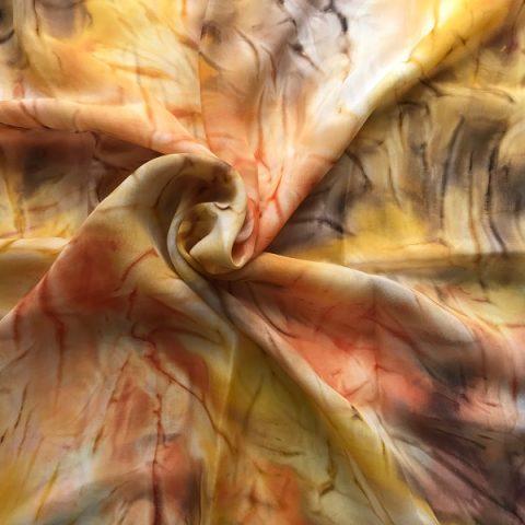 Ефирен копринен шал Пъстра есен