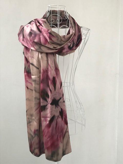 Копринен шал Флоренция1