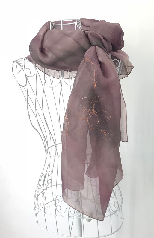 Копринен шал Жасмин