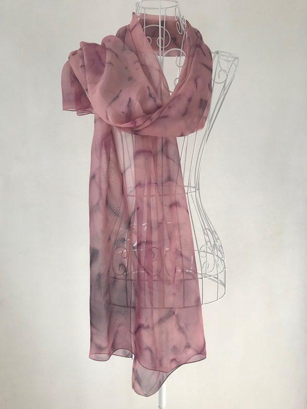 Шал Пурпурен цвят