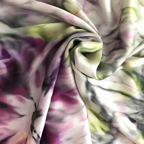 Копринен шал Китайска роза